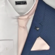 Rózsaszín díszzsebkendő