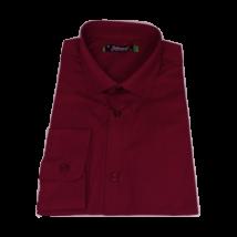 Egyszínű slim fit ing