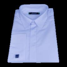 Mandzsettagombos világoskék férfi ing