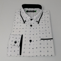 Mintás karcsúsított ing
