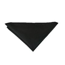 Fekete díszzsebkendő