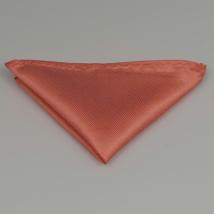 Lazac színű díszzsebkendő