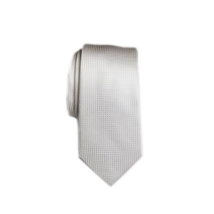 Mintás  nyakkendő,fehér