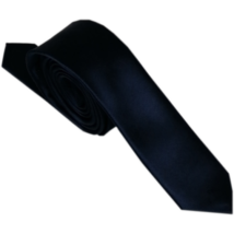 Goldenland sötétkék keskeny szatén nyakkendő
