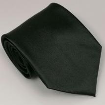 Fekete széles nyakkendő