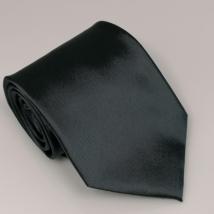 Sötétszürke széles nyakkendő