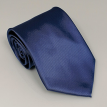Középkék széles nyakkendő