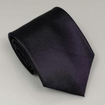 Padlizsán lila széles nyakkendő