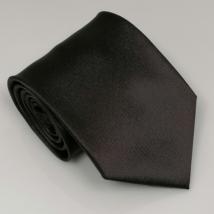 Sötétbarna széles nyakkendő