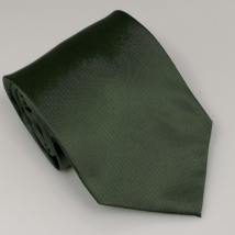 Sötétzöld széles nyakkendő