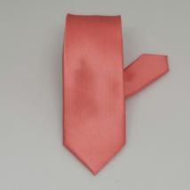 Lazac színű keskeny nyakkendő