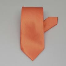 Barack színű keskeny nyakkendő