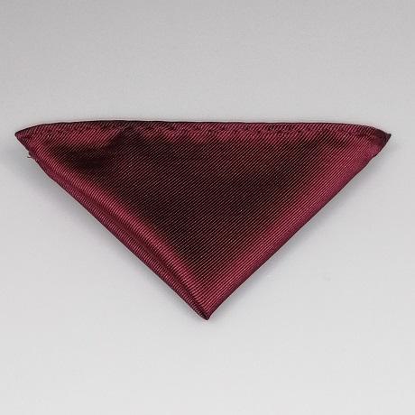 Bordó díszzsebkendő