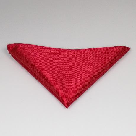 Piros díszzsebkendő