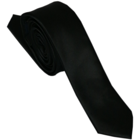 Goldenland fekete keskeny szatén nyakkendő