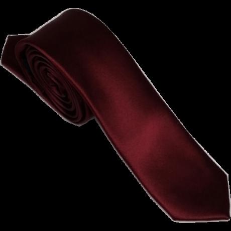 Goldenland bordó keskeny szatén nyakkendő
