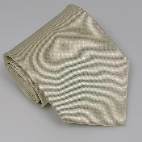 Ekrü széles nyakkendő