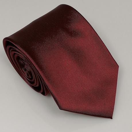 Bordó széles nyakkendő