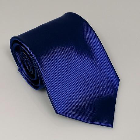 Királykék széles nyakkendő