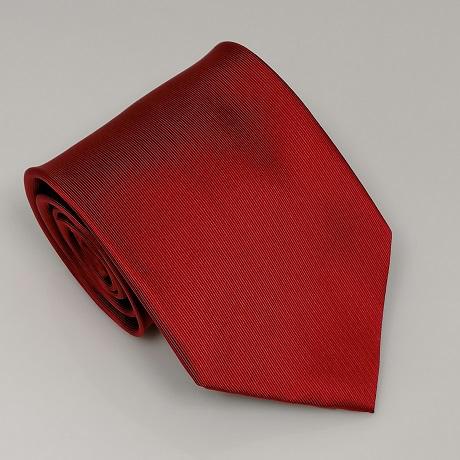 Meggypiros széles nyakkendő