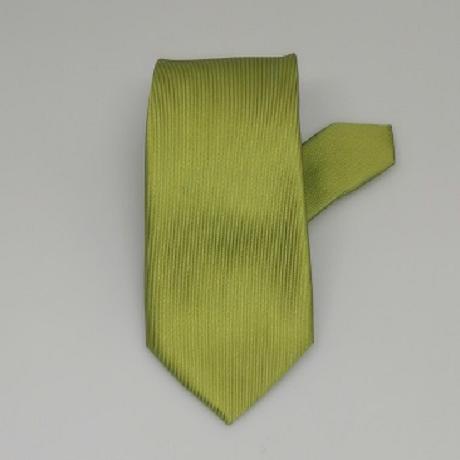 Kivizöld keskeny nyakkendő