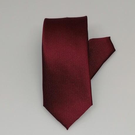 Bordó keskeny nyakkendő