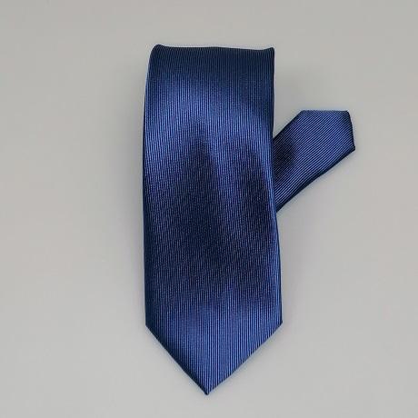 Középkék keskeny nyakkendő