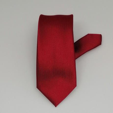 Meggypiros keskeny nyakkendő