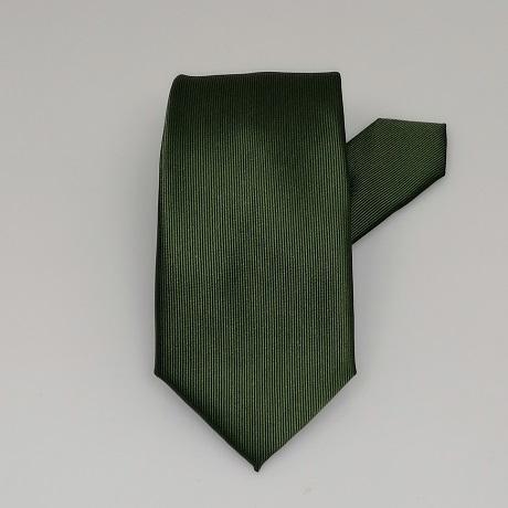 Sötétzöld keskeny nyakkendő